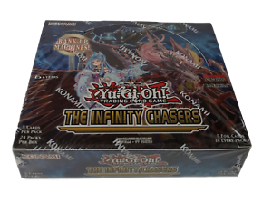 The Infinity Chasers Booster Box NEW Yu-Gi-Oh