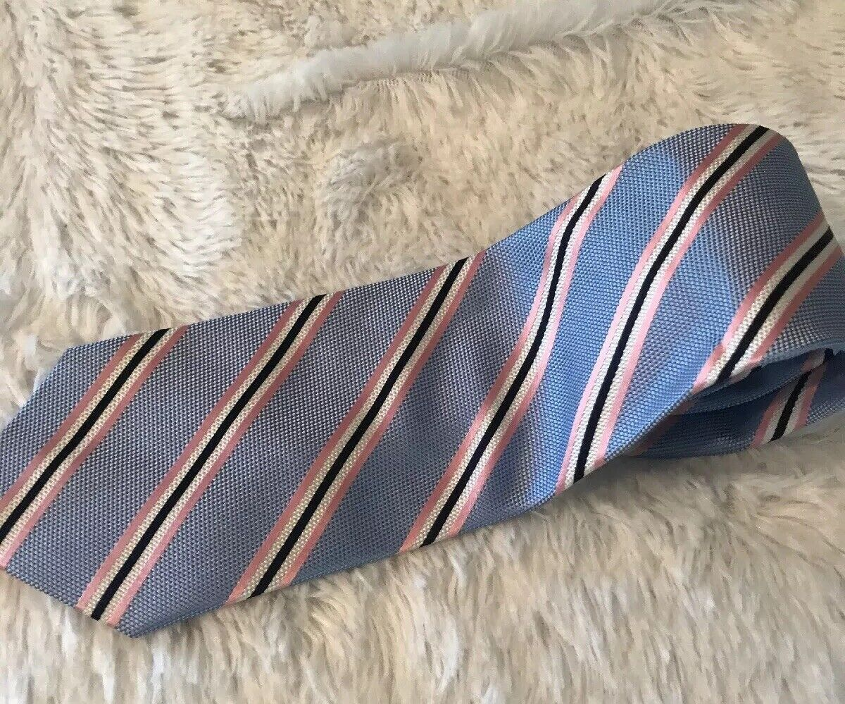Jos A Bank Brand New W// Stripe Neck Tie 100/% Silk Red Neck Tie Free Shipping