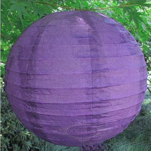 Lots 10PC 6/'/' 8/'/' 12/'/' Chinese Paper Lanterns Lamp Home Party Wedding Decoration