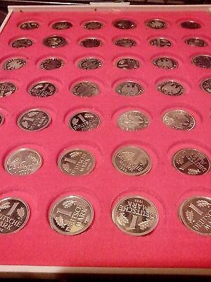 1 DM in PP  ihre Wahl mit Buchstabe A 1991- 2001- ab 5 stück portofrei
