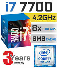 Intel Core i7-7700 Kaby Lake Quad-Core 4.20GHz LGA1151 7th Gen Desktop Process