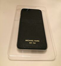 New Michael Kors iphone  6 6s Phone Case Cover Hard Case Saffiano Leather Black