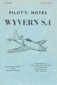 WESTLAND-WYVERN-S-4-PILOT-039-S-NOTES-A-P-4272-C-P-N