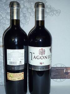 1 Tagonius Crianza 2000 Bodegas Vino Di Madrid 91/100 1° Anno Jouir D'Une Haute RéPutation Sur Le Marché International