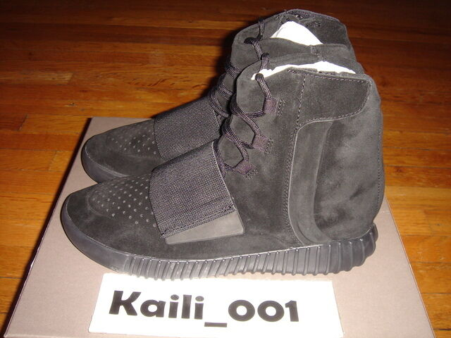 Adidas Yeezy Boost 750 BLACK BB1839 350 Grey Originals Kanye Turtle PB MR B