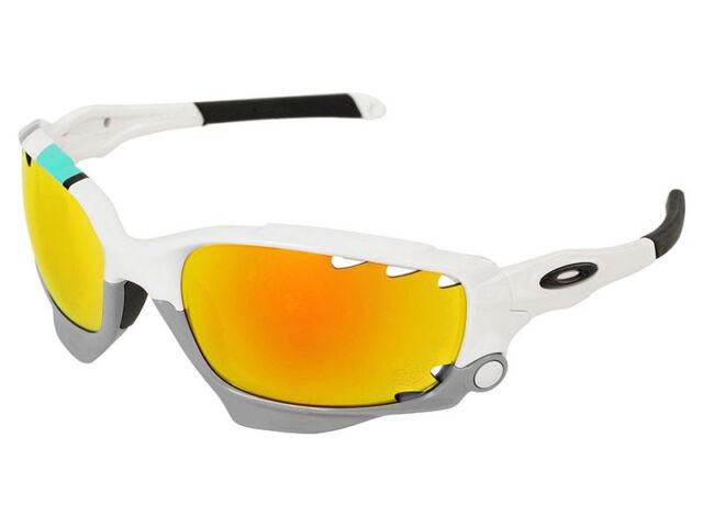 Oakley Racing Jacket 30 Years Sport Sunglasses OO9171-24 White Fire, Black 1fe0076ff0a7
