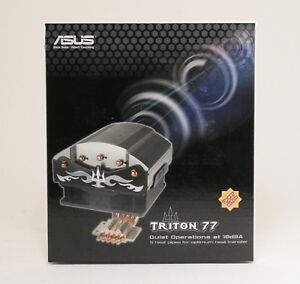 ASUS-Triton-77-PWM-Quiet-Reverse-Air-Flow-CPU-Cooler-Heatsink-Fan-UNT