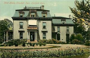 Fabulous Details About Connecticut Ct Hartford Pond House Elizabeth Park Early Postcard Download Free Architecture Designs Scobabritishbridgeorg