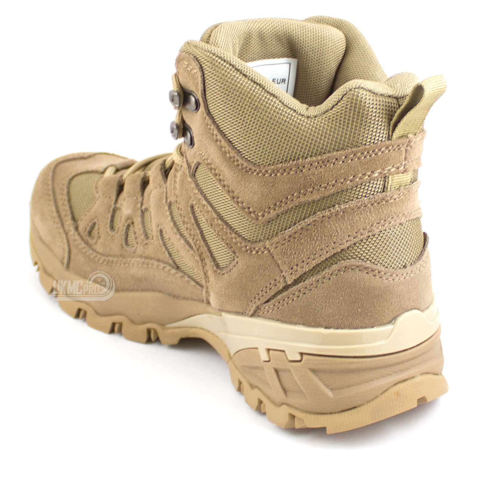 Desert Army Military Tactical Cadet Combat Combat Combat Patrol Work Hunting Light Stiefel Tan 665a0b