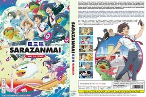 ANIME-DVD-ENGLISH-DUBBED-Sarazanmai-1-11End-All-region-FREE-SHIPPING-SKU3