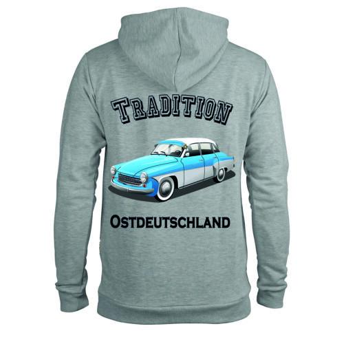 Hoodie Traditon Ostdeutschland Wartburg 311 Pullover Pulli Kapuzenpollover