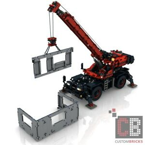 Cb Self Made Building Instruction Rc Rough Terrain Crane Sbrick