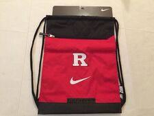 Nike Rutgers Scarlet Knights Draw String Sack Pack Back Pack Book Bag New