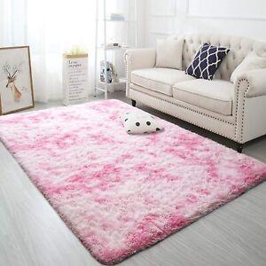 Carpetas Alfombras Modernas Peludas Pink 4x6 Para ...
