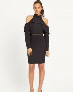 ROCHELLE HUMES HIGH NECK LACE 2 IN 1 DRESS SIZE 16