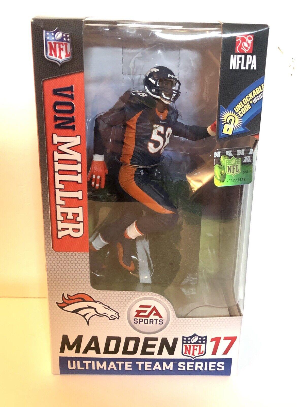 Von Miller Denver Broncos McFarlane Madden NFL NFL NFL 17 Chase Variant cifra b57693