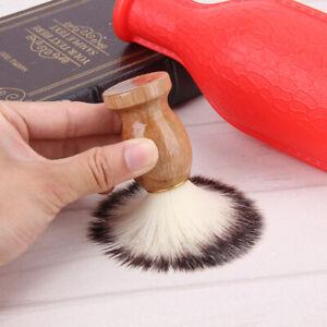 Badger-Hair-Men-039-s-Shaving-Brush-Barber-Salon-Men-Facial-Beard-Cleaning
