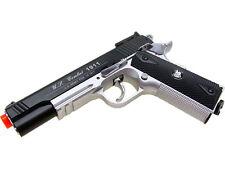 WG Airsoft 1911 Pistol Gun Full Size High Power Heavy Weight CO2 Win Gun 500 FPS