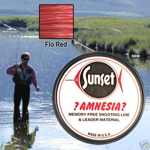 AMNESIA MEMORY FREE FISHING LINE 10 LB RED SS06410