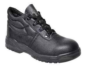 in lavoro nere Puntale Stivali Unisex Src p Portwest sicurezza Calzature di da Fw10 acciaio Protector S1 C0WHWfq