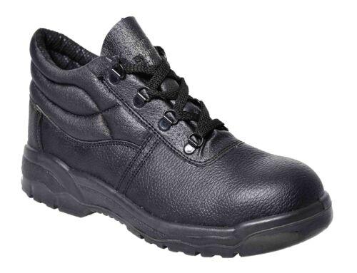 acciaio Portwest Stivali Fw10 lavoro da di Puntale p Src nere Calzature Protector Unisex in sicurezza S1 gFgq1