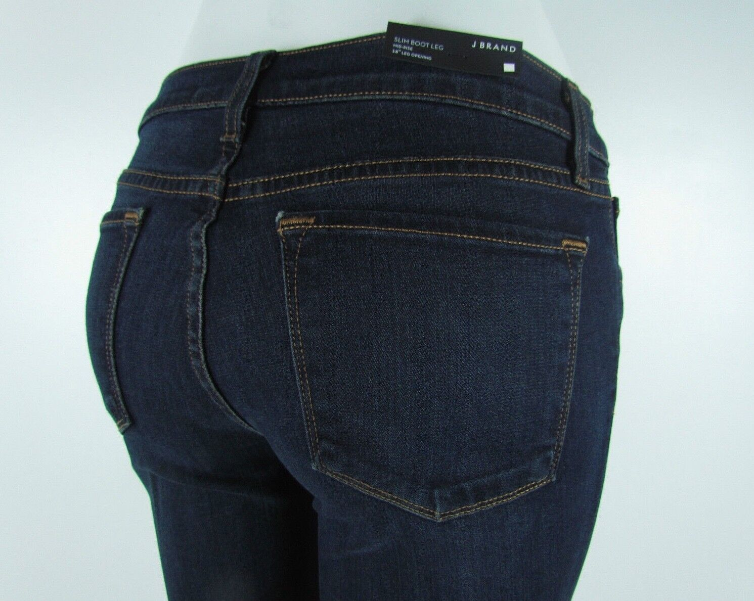 New J BRAND 818 SLIM BOOTCUT Mid Rise Woman Jeans SZ 25 in VERUCA DARK blueE