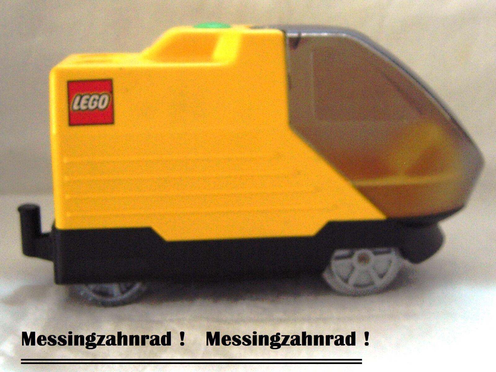 LEGO Duplo Eisenbahn elektrische Intelli Lok ZUG Batterie Betrieb Messingzahnrad