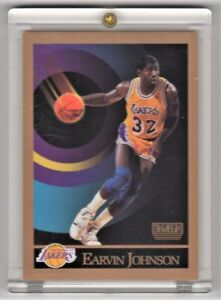 1990 SkyBox Basketball card Magic Johnson #138 LA Lakers Mint Condition.