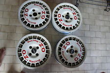 "JDM OZ rally Ruote 15"" wheels rims pcd114.3x4 ce9a evo iii gravel route"