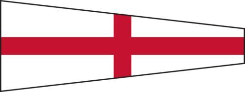 "Naval Signal Flag // Pennant 100/% Cotton – Marine Code 20/"" X 8.5/"" 8 Navy"