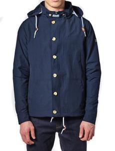 à 150 £ Promo Weekend Burgess Rrp Offender capuchon In Navy Veste TFqdw44