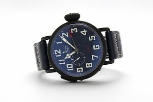 Zenith-Type-20-Pilot-48mm-GMT-DLC-96-2436-693-57-C779-Limited-to-50-50-50