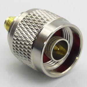 N-Type-Male-Plug-to-SMA-Female-Socket-RF-Adaptor-Interseries