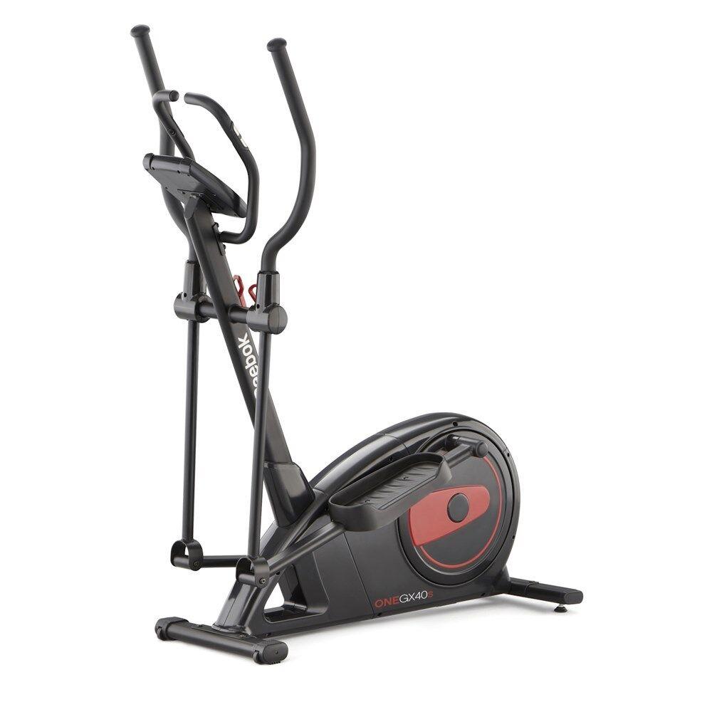 Reebok Fitnessgerät Cross Trainer GX40S Elektrisch belastbar bis 120 kg  | Maßstab ist der Grundstein, Qualität ist Säulenbalken, Preis ist Leiter