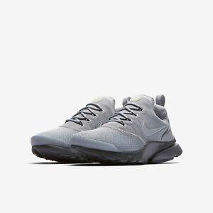 c991caf3cae1 Nike Boys Grade School Presto Fly Shoes Dark Grey Wolf Grey 913966 ...