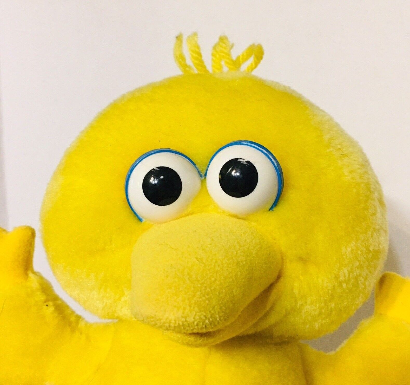 Big Bird Giggle Wiggle Plush Toy Battery Operated 1996 Jim Jim Jim Henson Productions 614e01