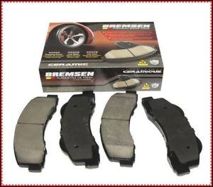 FRONT Ceramic Brake Pads For 2005 2006 2007 2012 2013 2014-2017 Ford Focus