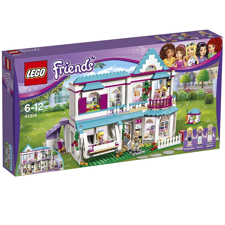 Lego Friends 41314 Stephanies Casa Nuovo Confezione Originale Misb