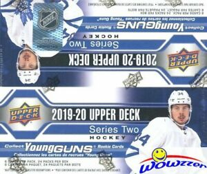 2019-20-Upper-Deck-Series-2-Hockey-Sealed-HUGE-24-Pack-Retail-Box-6-YOUNG-GUNS