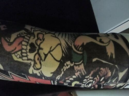 If You See Kay No Holds Barred Wine Promo Faux Tattoo Sleeve