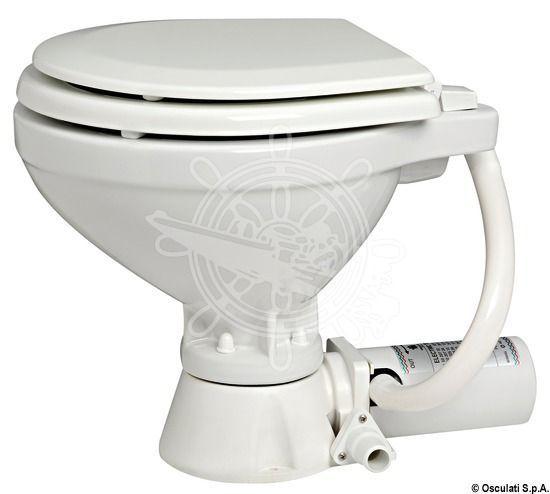 Osculati WC elektrisch V 12 V elektrisch Porzellan/Holz 2b7f56