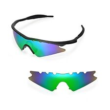 New WL Polarized Emeraldine Vented Replacement Lenses for Oakley M Frame Sweep