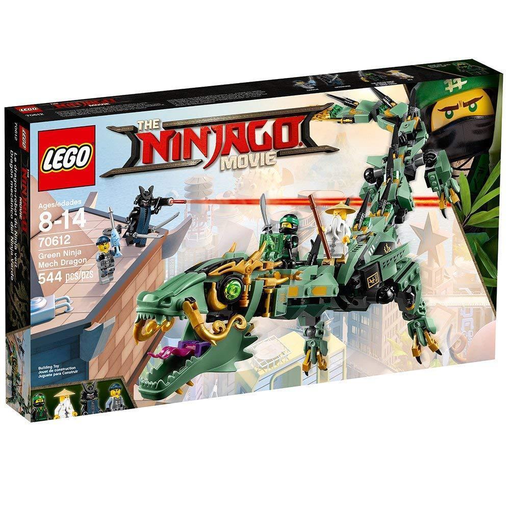 LEGO Ninjago Movie verde Ninja Mech Dragon [Building Kit 70612 544 Pieces] NEW
