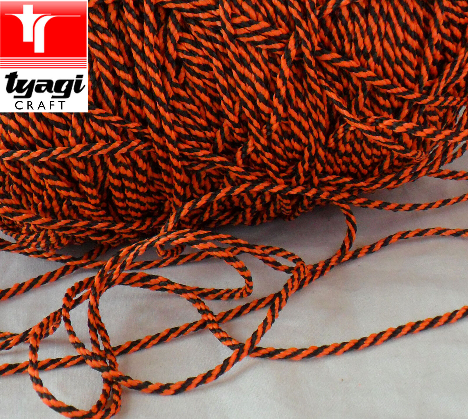 3mm Maus Unterlage Linie Paracord Polyester geflochtene Guide Seil Seil Seil Blind Licht 14f105