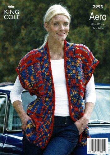 King Cole Knitting Patterns Aero 2957 2996 2959 2995 3002 2960