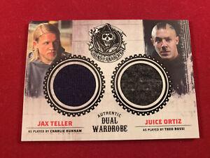 Cryptozoic Jax Jugo Hijos De La Anarquía Doble Armario Tarjeta Charlie Hunnam S1 3 Ebay
