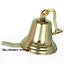 Antique-Brass-Wall-Bell-Vintage-Ship-039-s-School-Pub-Last-Orders-Dinner-Door-8-inch thumbnail 2