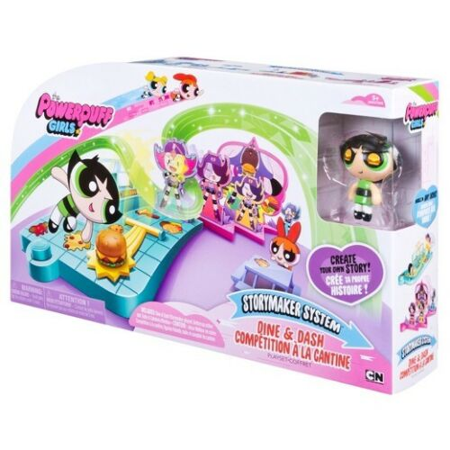 Free UK Postage! The Powerpuff Girls Storymaker System Dine /& Dash Set Age 5