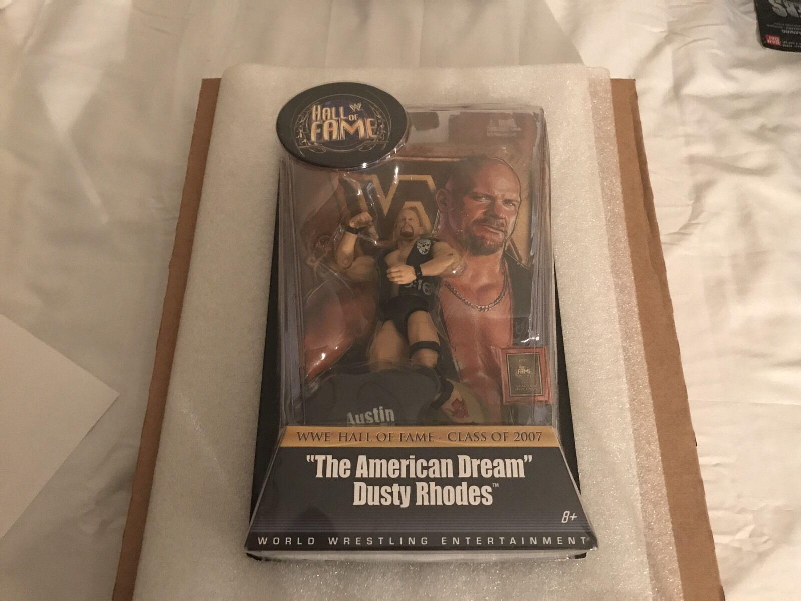 comprar mejor WWE Mattel Salón de la Fama Elite Elite Elite Piedra Fría Steve Austin fábrica error WWF rara menta en tarjeta  orden en línea