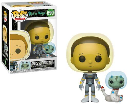 Genuine Rick e Morty Pop Figura in vinile-Tuta Spaziale Morty #690